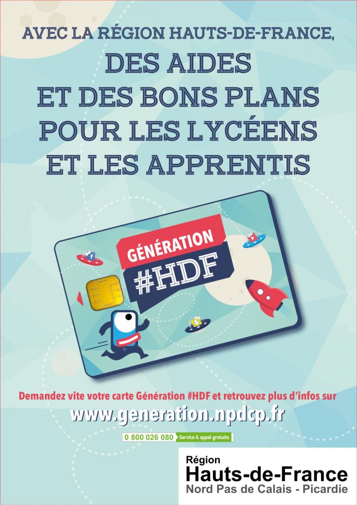 Affiche A3 Génération HdF2